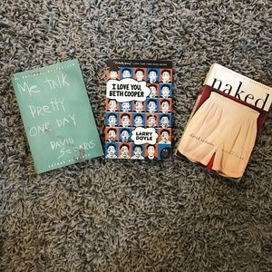 set of 3 hilarious paperback books
